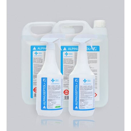 Alpinuseptol -  Preparat do szybkiej dezynfekcji powierzchni