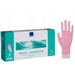 ABENA Rękawice diagnostyczne nitrylowe bezpudrowe - 100 szt
