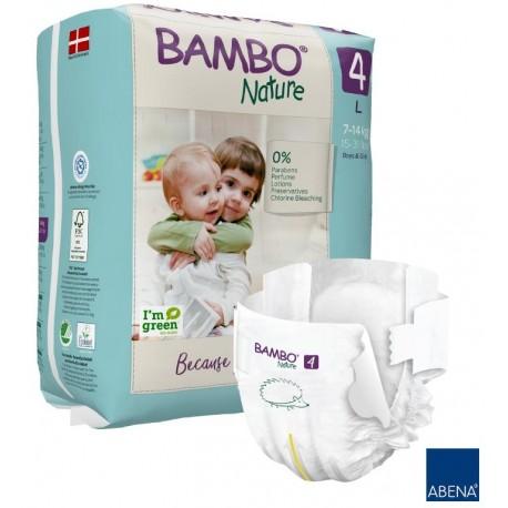 Pieluszki Bambo Nature 4 MAXI 7-14kg 24szt