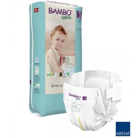 Pieluszki Bambo Nature 3 MIDI 4-8 kg 28 szt.