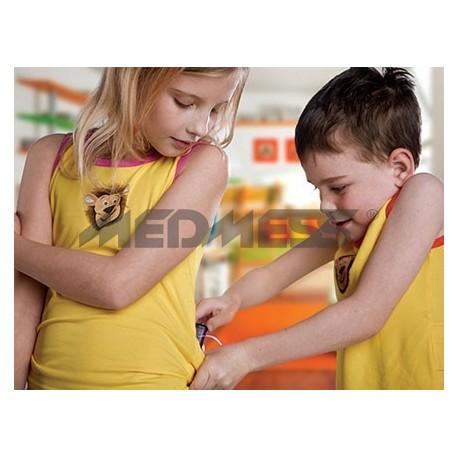 Podkoszulek dla dzieci Lenny  - kolor pomarańczowy - rozmiar 4-5 lat