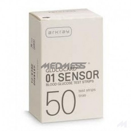Paski testowe do Glucocard 01 Sensor 50 szt