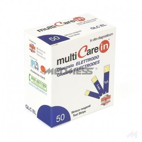 MultiCareIn Paski do pomiaru poziomu glukozy we krwi
