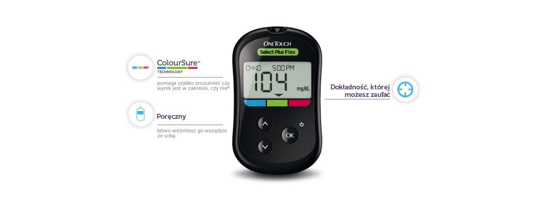 Glukometr Lifescan One Touch Select Plus Flex