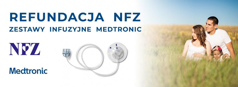 REFUNDACJA NFZ - ZESTAWY INFUZYJNE MEDTRONIC, SENSORY