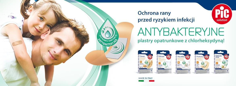 Plastry antybakteryjne - dla dzieci i dorosłych - zestawy!